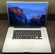 "CTO Apple MacBook Pro 17"" Laptop 2.5 GHz Quad Core i7, 8GB 750GB HD 1GB Video"