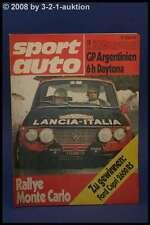 Sport Auto 3/72 Ford Capri 2600 RS + Renn Capri + Poster
