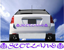 LARGE SCOTLAND THISTLE car vinyl decal vehicle graphic bumper sticker 80CM X 7CM
