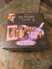 New The DaVinci Code Reveal The Mystery Puzzle