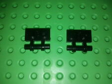 LEGO  1 x 2 with Handle attaches noires  / Set 10221 10228 7679 7197 10241 6967