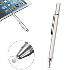 Punta Fine Rotondo Sottile Pennino Capacitivo per iPad2/3/4/5/Air/Mini/iphone#C