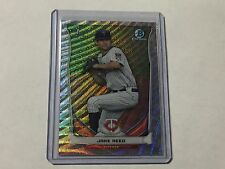 Jake Reed RC 2014 Bowman Chrome Draft Top Prospects Silver Wave Refractor #'D/25