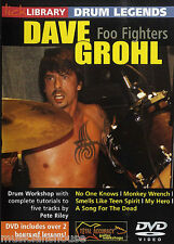 LICK LIBRARY DAVE GROHL Foo Fighters Learn to Play ROCK Lesson DRUM Legends DVD
