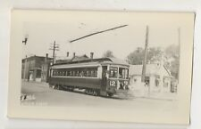 NEW YORK STATE RAILWAYS UTICA Division Lines Trolley Texaco Gas Station NY Photo