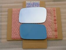 F142LB 2009-2012 Acura TL BLUE Mirror Glass Driver Side Left LH + FULL Adhesive