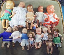 viele alte und unterschiedliche  Puppen  *TOP* mit alter Kleidung PUPPE
