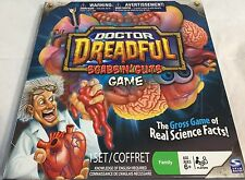 Dr Dreadful Scabs N' Guts Game Gross Game Science 100% Complete Spin Master