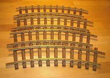LGB Playmobil Train 4 Curve Brass Track 1100 FREE SHIP WORLD-WIDE L.G.B.