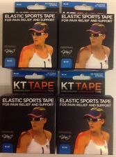 4 - KT Tape Therapeutic Elastic Body Sports Tape ~ Blue