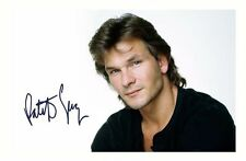 PATRICK SWAYZE AUTOGRAPHED SIGNED A4 PP POSTER PHOTO 1