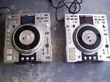 (2) Denon DN-S3500 Professional DJ Turntable CD / MP3 Player - READ DESCRIPTION