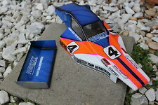 Vintage painted body and wing Team Assocaited 1990 Rc10 Team Car