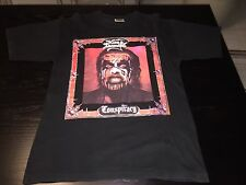King Diamond CONSPIRACY SHIRT RARE! Vintage Mercyful Fate OOP Size L !!