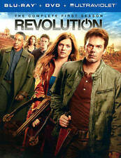 Revolution: The Complete First Season (Blu-ray/DVD, 2013 9-Disc Set) Billy Burke