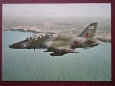 POSTCARD AIR HAWKER SIDDELEY HAWK JET TRAINER