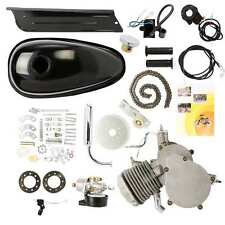80CC MOTOR DE GAS NEGRO MOTOR 2 STROKE CYCLE BIKE BICYCLE MOTORIZED ENGINE KIT