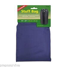 """STUFF BAG SMALL=15""""X20"""" VARIABLE COLORS, WATER REPELLENT, 210 DENIER NYLON BAG"""