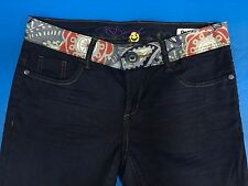 NEW WITH TAGS Desigual The Fun Slim Fit Women's Skinny Jeans Size 28