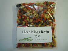 THREE KINGS INCENSE Resin 25g -Spell supplies incense granuals