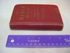 1st ed the Bible in Brief 1942 KJV  By Ross