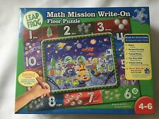 Math Mission Write On Floor Puzzle Leap Frog