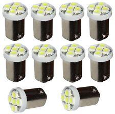 10x ampoule T4W T5W BA9s 12V 5LED SMD blanc effet xénon éclairage intérieur