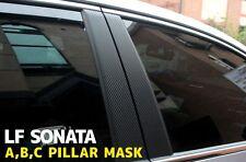 Decal-X Carbon A,B,C Pillar Mask 8P 1Set (Fit: Hyundai Sonata 2015 2016+)