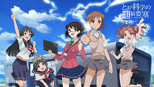 A Certain Scientific Railgun S To Aru / Toaru Kagaku no Railgun DVD (2 DVDs)