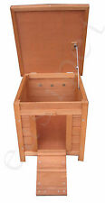 Wooden Rabbit Guinea Pig Tortoise Hide Hutch Wood Pet House Duck Easipet 393