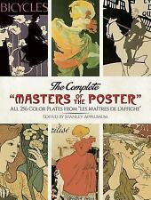 """Dover Fine Art, History of Art: The Complete """"Masters of the Poster"""" : All..."""