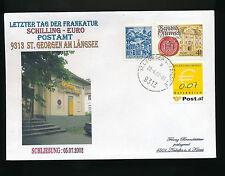 Brief aus 9313 St.Georgen am Längsee mit 0,07  Ergänzungsmarke    (B5)