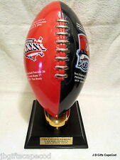 PATRIOTS SUPER BOWL COMMEMORATIVE TROPHY - MINT - WITH 18K GOLD TEE