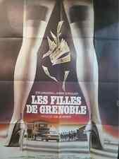 AFFICHE CINEMA 119 x 16 1981 FILLES DE GRENOBLE par Landi J Lemoine Zoé Chaveau