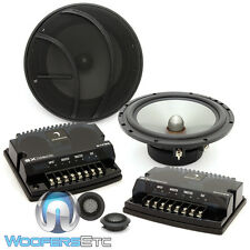 "DIAMOND AUDIO SXP65A 6.5"" 150W COMPONENT COAXIAL ALUMINUM TWEETERS SPEAKERS NEW"