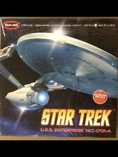 POLAR LIGHTS 1/350 Star Trek Enterprise NCC-1701-A  Plastic Model Kit # 808 F/S