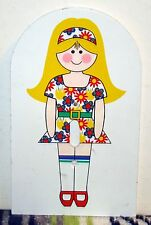 Vintage Cute Blond Girl Light Switch Plate for Single Switch