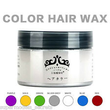 Japan Hair Color Wax Instant Hair Colour Wax High Quality - Turquoise Green