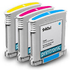 Ink Cartridge for HP OfficeJet Pro 8000 8500 Inkjet Printer - HP 940XL 3 Pa