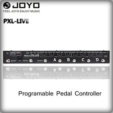 JOYO PXL-LIVE Dual 4CH Programable Buffered Bypass MIDI Pedal Controller