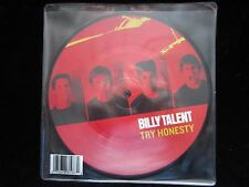 """Billy Talent - Try Honesty - 7"""" picture disc (unplayed)"""
