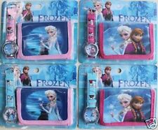 Frozen Watch Wristwatch Purse Childrens Girls Gift Set Party Anna Elsa Christmas