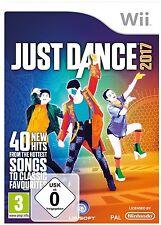 Just Dance 2017-NINTENDO WII GIOCO DANZA-NUOVO OVP