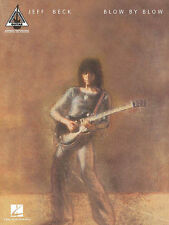 Jeff Beck Blow By Blow Guitar Recorded Versions Tab Book NEW!