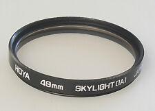 (PRL) HOYA SKYLIGHT (1A) 52 mm FILTRO FOTO PHOTO FILTER FILTRE FILTAR FILTRU