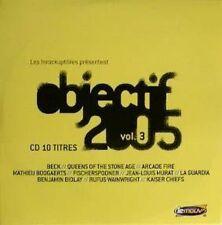 LES INROCKUPTIBLES OBJECTIF 2005 VOL - CD ALBUM  CARDSLEEVE 10 TITRES 2005