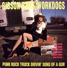 The Gibson Bros - Punk Rock Drivin Song of a Gun - 1990 Homestead NEW
