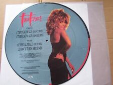 TINA TURNER,TYPICAL MALE picture-maxi m-/vg+ capitol rec. 12CLP419 England 1986