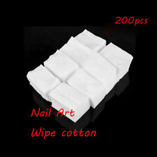 Beauty Polish Manicure Remover Cotton Cleaner Wipes Lint Pads Nail Art