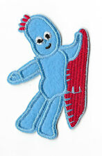 IGGLE PIGGLE IRON ON / SEW ON PATCH Embroidered Badge PT102 IN THE NIGHT GARDEN